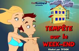 affiche FastBooking episode 2 - Tempête sur le week-end