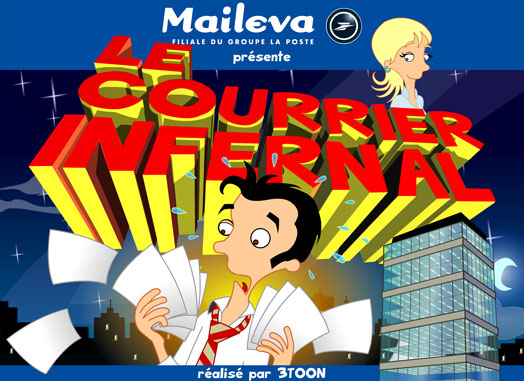 Saga Maileva-La Poste - episode 1 - Le courrier infernal