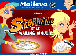 Saga Maileva - episode 3 - Stephanie and the cursed mailing