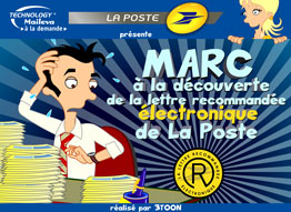 Saga Maileva - Post - episode 4 - Marc to the discovery of the letter recommended electronics de La Poste