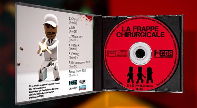 Chirurgiens du son - Jaquette intérieure du CD