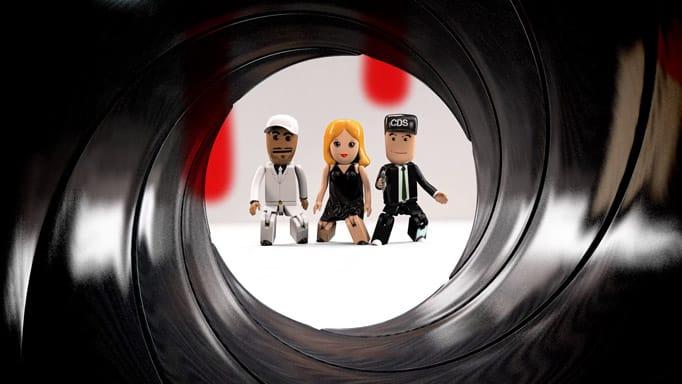 Les Chirurgiens du son - clip Feeling - Bond, Maz Bond