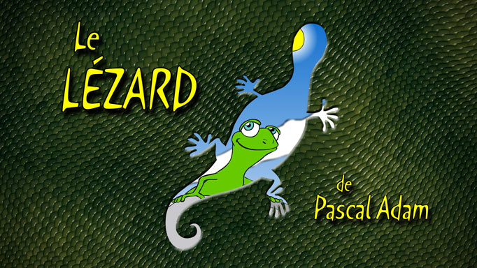 The lizard, animation for creative workshops