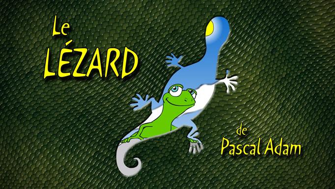 Le lézard, animation pour ateliers créatifs d'enfants de 5 à 10 ans