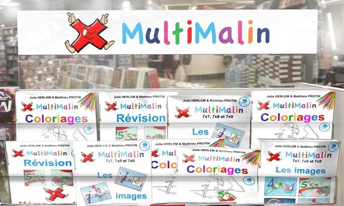 MultiMalin - Les livrets de jeu et d'exercices
