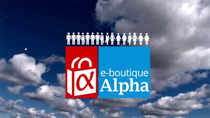 Lancement de l'e-boutique Alpha