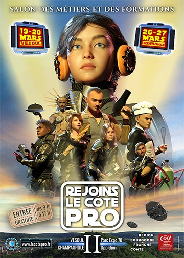 Salon Rejoins le Côté PRO