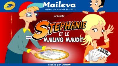 La saga La Poste – Maileva – Épisode 3 – Stéphanie et le mailing maudit