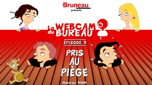 La webcam du bureau (saison 1) – Épisode 3 – Pris au piège