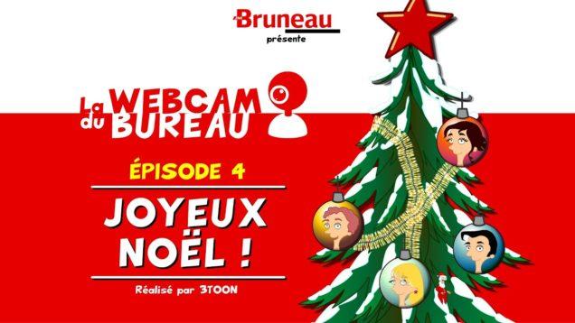 La webcam du bureau (saison 1) – Épisode 4 – Joyeux Noël !