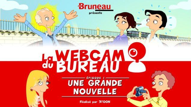 La webcam du bureau (saison 1) – Épisode 1 – Une grande nouvelle