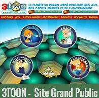 3TOON - Site Grand public