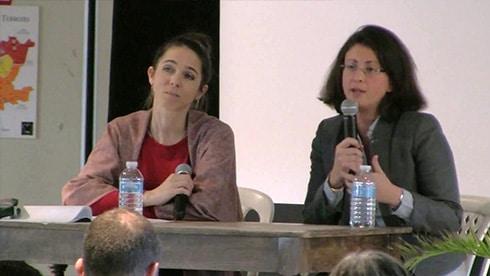 Nelly Dussausse et Noëlle Sanchez